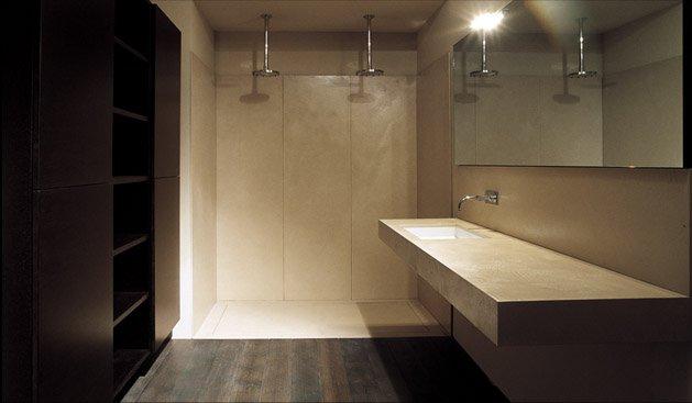 Resine - Pavimento e rivestimento bagno uguale ...